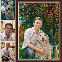 Заказать портрет в Киеве, портрет на заказ Киев, заказ портрета по фотографии Киев, заказать портрет