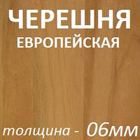 МДФ шпонированный 2800х2070х6мм - Черешня