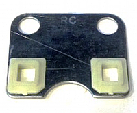 Пластина головы направляющая штанг 177F для мотоблока