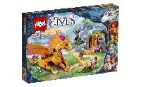 Lego Elves Лавовая пещера дракона огня