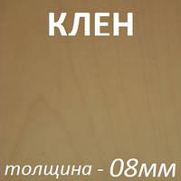 МДФ шпонированный 2800х2070х8мм - Клен (1 сторона), фото 1