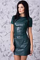 Модное женское платье короткое в 3х цветах Марсель, фото 1