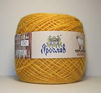 Нитки для вязания 100% шерсть мериноса 100г