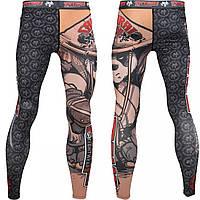 Компрессионные штаны для занятий единоборствами Tatami Samurai Panda