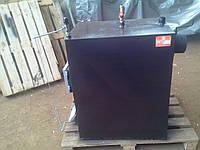 Пиролизный котел PRO-M 65 кВт. Срок горения 12 часов! (брикеты, опилки, дрова)