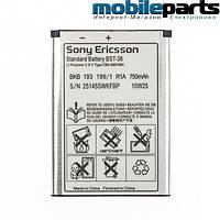 Оригинальный аккумулятор АКБ батарея SONY ERICSSON BST-36  1000mAh