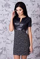 Красивое женское платье короткое в 3х цветах Медея