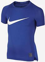 Детская футболка с коротким рукавом Nike Pro Cool HBR Compression JUNIOR 726462-480