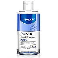 Mincer Pharma Двухфазная вода для демакияжа глаз №01