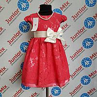 Платье детское на девочку гипюровое DEVA.ПОЛЬША., фото 1