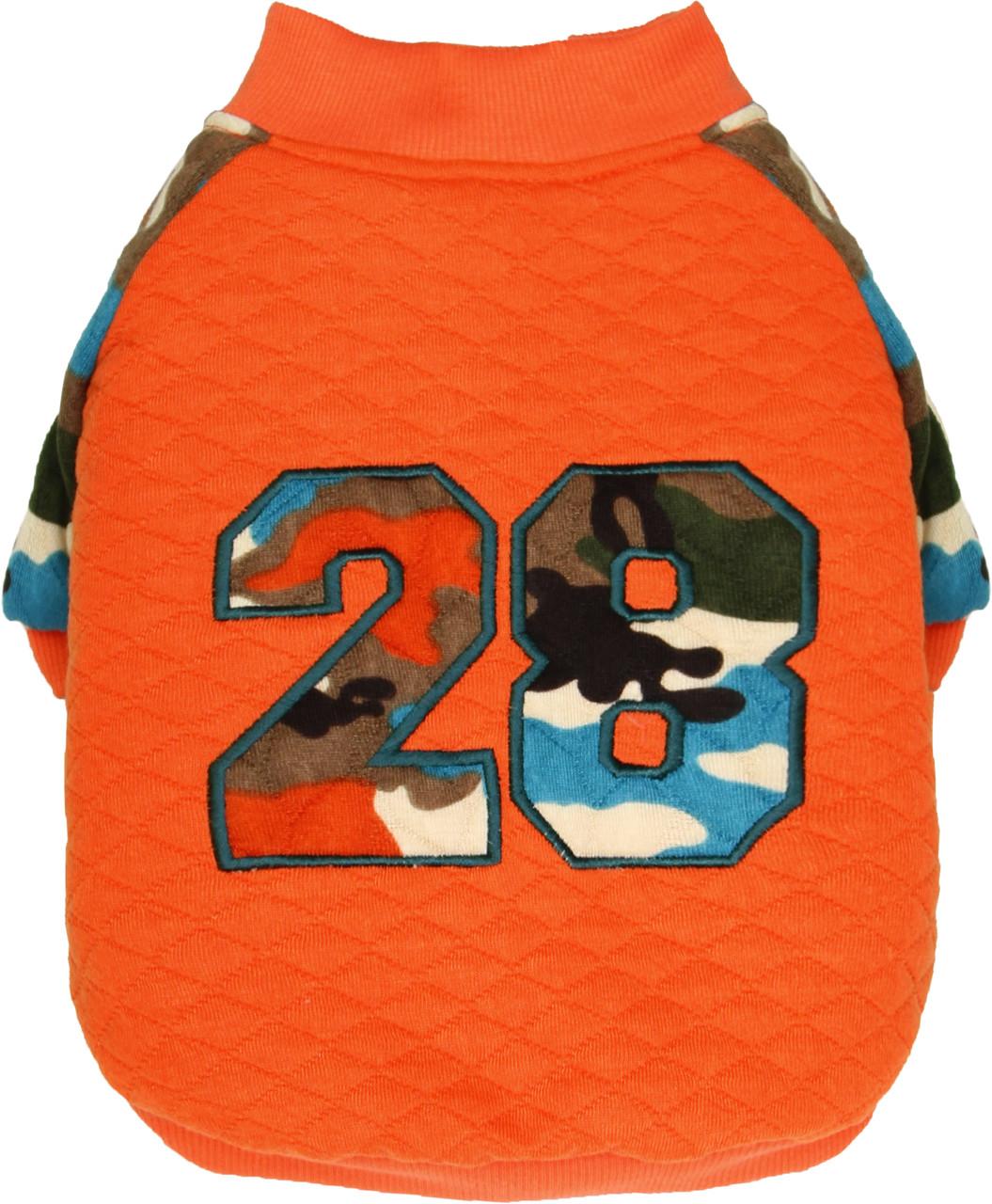 Батник для собак Dobaz, Добаз Millitary оранжевый