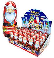 Дед Мороз шоколадный с сюрпризом 30 гр. Aras