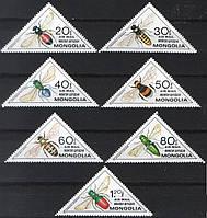 Монголия 1979 насекомые - MNH XF