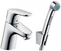 Смеситель для умывальника HANSGROHE FOCUS E2 31926000 с гигиеническим душем