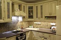 Кухня классика в бежевом цвете, фото 1