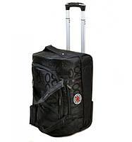 Дорожная сумка колесах нейлон  Small 660-3 black