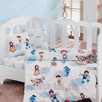 Постельное белье для новорожденных Cotton Box Masal Dunyasi bordo Детский комплект