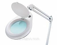 Лампа лупа настольная  8066
