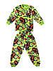 Пижама махра(вельсофт)на мальчика с тачками