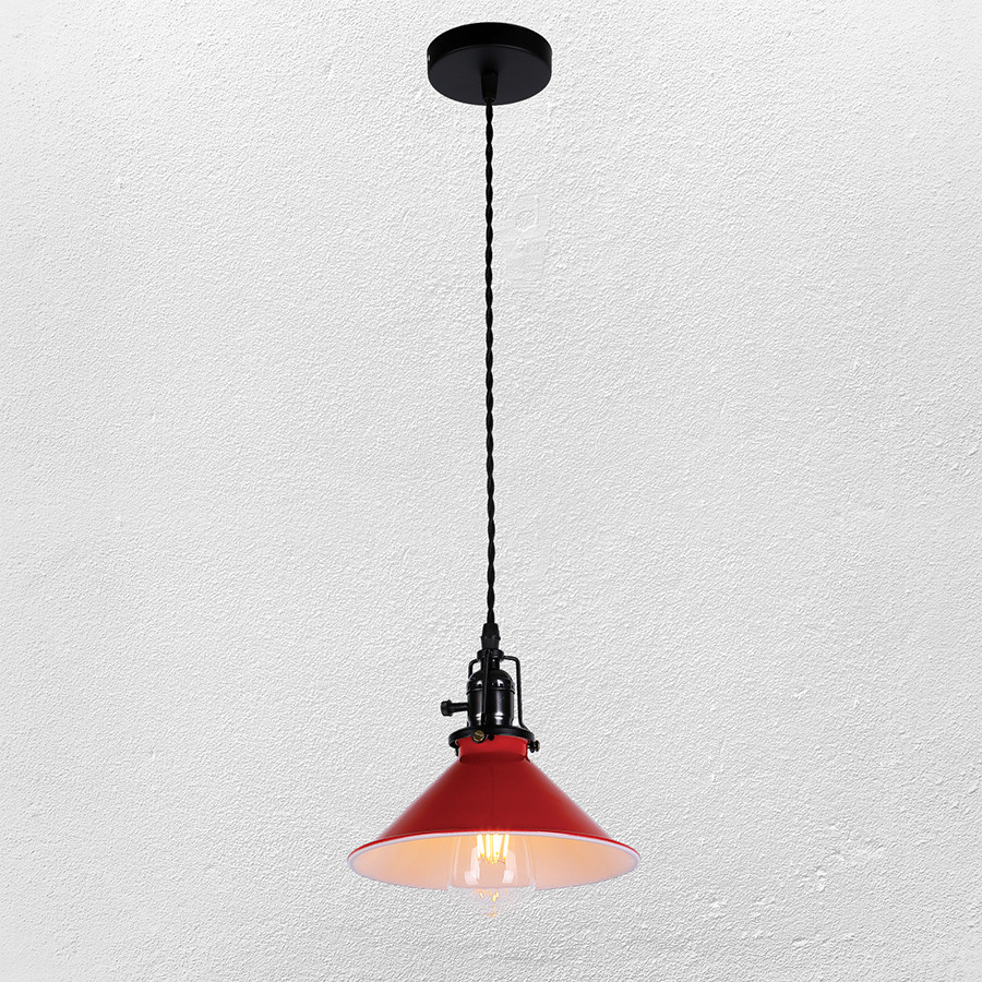Люстра ( подвес) в стиле лофт (модель 52-7319-1 RED  E27)
