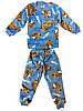Пижама махра(вельсофт)на мальчика с собачками