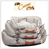 Лежак для собак и кошек Кантри 2 (60х46х22), фото 1