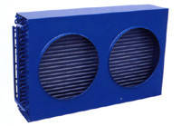 Конденсатор воздушного охлаждения 9,8 кВт (2хф350)