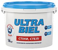 Краска водно-дисперсионная акриловая ŚNIEŻKA Ultra Biel