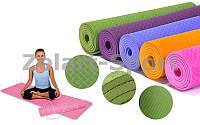Коврик Zelart Yoga Mat 183х61х0.6см (FL-4937)
