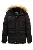 Куртки удлиненные зимние на мальчика оптом, Glo-story