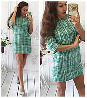 "Модное мини  платье ""Луи Витон"" (4 цвета)"