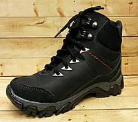 Подростковые ботинки зимние ТМ Jordan на шерсти размер 32-38