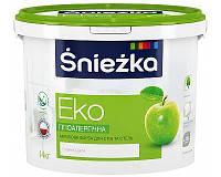 Матовая акриловая краска для стен и потолков ŚNIEŻKA Eko