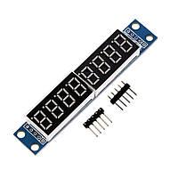 MAX7219 8-ми разрядный 7-ми сегментный светодиодный модуль, фото 1