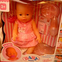 Детский пупсик Беби берн девочка.