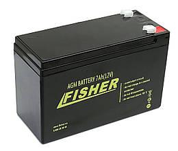 AMG аккумулятор Fisher7Ah 12B.