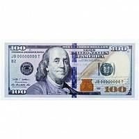 Сувенирные деньги 100 долларов нового образца .Пачка 80 шт.
