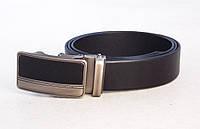 Брючный мужской ремень JK кожаный, фото 1