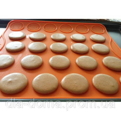 Коврик силиконовый для макарунов