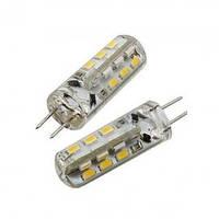 LED лампа LEDEX G4 (3W, 3000K, 220V) чип: Epistar