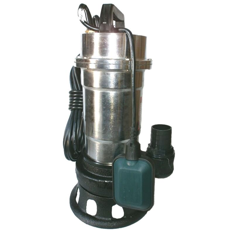 Дренажный, фекальный насос Euroaqua WQS 2-2.5 корпус из нержавеющей стали