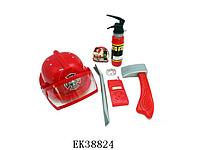 Набор пожарника 9919B, огнетушитель брызгает водой. Тематические игровые наборы.