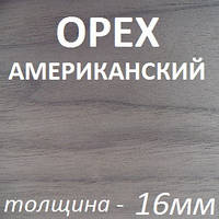 МДФ шпон/бел.ламинат 2800х2070х16мм - Орех Американский, фото 1