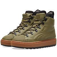 Оригинальные кроссовки Puma The Ren Boot Puma Olive & Brown