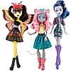 Набор из 3 кукол Монстр Хай серии Бу Йорк, Луна, Эль и Мауседес Monster High Boo York