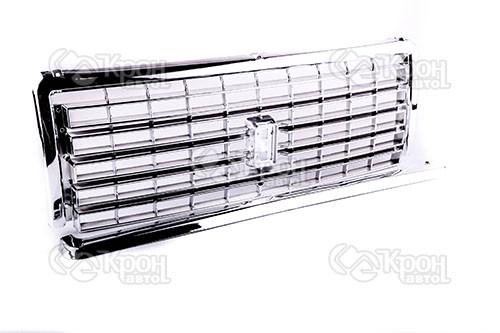 Решетка радиатора ВАЗ 2107 (пластик хром.) АВТОПЛАСТ