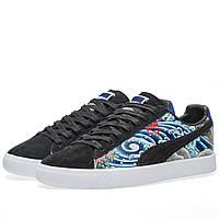 Оригинальные  кроссовки Puma x Atmos Clyde Black & Blue