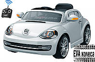 Дитячий електромобіль volkswagen beetle, детский электромобиль volkswagen жук