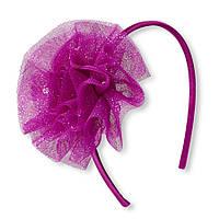 Обруч с 3Д цветком 2-6 лет