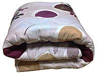 Одеяло 2-х бязь на овечьей шерсти 180*215